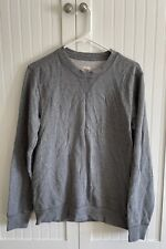 Mossimo Athletic Fit Gray Mens Pullover Sweater Size Small