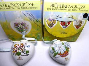 Hutschenreuther Porcelana Frühlings-grüsse Diseño Ole Winther Selección Edition