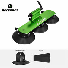 ROCKBROS One-Bike Suction Rooftop Carrier Quick Installation Roof Rack Green