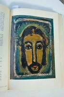 GEORGES ROUAULT by Pierre Courthion. 1st edition 1961. Abrams. 49 color plates