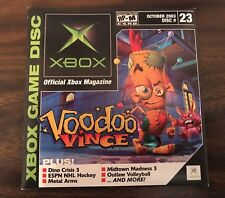 XBOX OFFICIAL MAGAZINE VIDEO DISC #23 VOODOO VINCE OCTOBER 2003