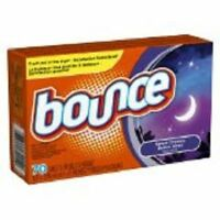 Bounce Dryer Sheets Sweet Dreams Scent Fabric Softener 70 Ct Box