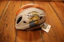 Bike Fashion Kinderhelm Minions, weiss, Gr. S 46-51cm, NEU