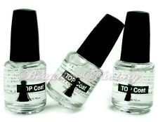 3 Nail Art UV Top Coat Acrylic Gel Polish Shiny Gloss Lamp Systems Manicure #119