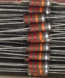 22K 0.5W  - Allen Bradley/Morganite & ITT/STC CARBON Comp. Resistors (Pk 20)