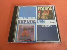 BRENDA LEE - THIS IS BRENDA / EMOTIONS CD 2 Albums on 1 CD