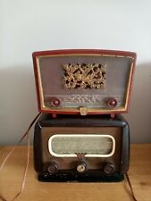 Deux Postes Radios Tsf Bakélite