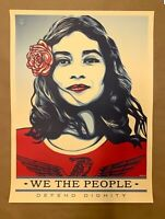 Shepard Fairey Obey Giant We The People 18x24 Poster Print Defend!
