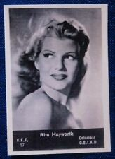 CINEMA - MINI FOTO - ACEO - RITA HAYWORTH