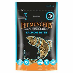 Pet Munchies 100% Natural Salmon Bites, 90g