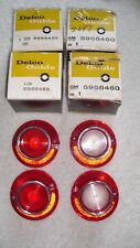 ALL EARLY NOS GM 1964 CHEVROLET BEL AIR TAIL LAMP LENS SET  #S 5955459 / 5955460