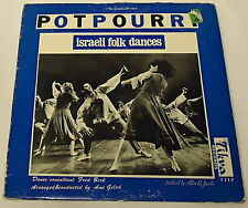 POTPOURRI ~ Israeli Folk Dances Vinyl LP