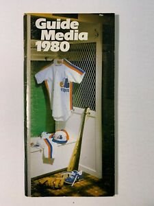 1980 81' 82' 83' 84' Montreal Expos Media Guides Lot of Five (5) Guides GD to VG
