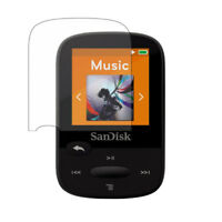 3x Screen Protector Shield Film for San Disk Clip Sport Plus SDMX28 MP3 Player
