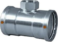 "4"" x 3/4"" - Viega Stainless Steel ProPress #85990 XL-S 304 Tee NEW"