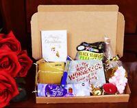 Personalised LADIES Christmas MINI PAMPER HAMPER GIFT BOX MUM NAN TEACHER AUNTIE