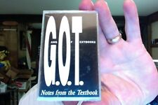 Gang of Textbooks- Notes from the Textbook- new/sealed cassette tape- rare?