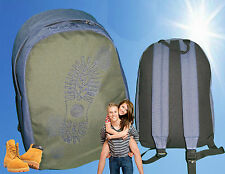 TIMBERLAND T18 BACKPACK Rucksack Small  Olive Green and Blue