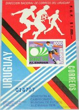 Uruguay 1974 1304 Special Block Soccer World Cup MNH
