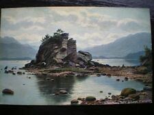 POSTCARD KERRY COILEEN DOWN ROCK KILLERNEY W/COLOUR E LONGSTAFFE
