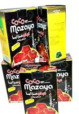 Lot of 5 Coco Mazaya Coconut Hookah Charcoal 96 Piece wholesale CocoMazaya