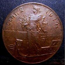 2  Centesimi 1911  conservazione SPL