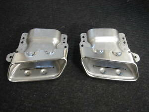 Mercedes-Benz Genuine Exhaust Pipe Tips S550 AMG 2010+