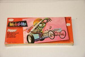 Testors Weird-Ohs Digger Model Kit - 1993 - Sealed!! Model #730