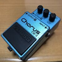 1986 BOSS CE-3 Chorus Guitar Effect Pedal MIJ made in Japan ACA green label