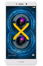 Huawei Honor 6X - 32GB -  Silber (Ohne Simlock) Smartphone