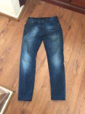 Nudie Jeans 32w 32l Slim Fit Jeans Used Thin Finn