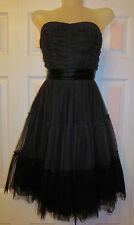 CECILIA DE BUCOURT chiffon strapless full skirt Gothic Lolita baby doll dress XS