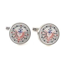 Novelty Nautical Ship Engine Order Telegraph Cufflinks With Gift Box 0754