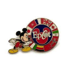Disney Epcot Pin Mickey Mouse Multiple Countries Flags Pin Trading 2005