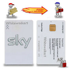 ACTIVATED WHITE FREESAT VIEWING CARD PLUS AND HD UK - with PIN NUMBER✔