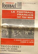 France Football n°1142-1968-LASSALETTE-KEITA-DZAJIC-DJORJEVIC-PANTELIC-FAZLAGIC