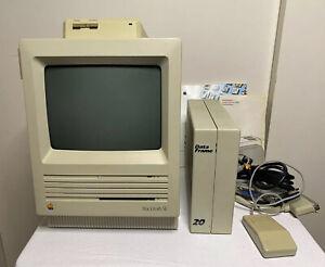 Apple Macintosh SE Clean Working Mouse System Saver Mac Data Frame Original Box