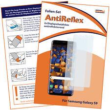 mumbi 2x Folie für Samsung Galaxy S9 Schutzfolie klar MATT Displayschutz Display