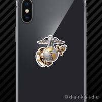 (2x) USMC EGA Cell Phone Sticker Mobile eagle globe anchor marines marine