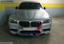 BMW 5 F10 F11 09-16 M5 Front Bumper Spoiler Performance Chin Spoiler Splitter M