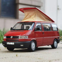 Schüco 1:18 Scale Volkswagen T4 VW Transporter Westfalia Campervan Red Car Model