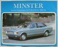 FORD Coleman Milne Minster Luxury Limousine Car Sales Brochure