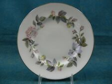 Royal Worcester June Garland Pattern Bread and Butter Plate(s)