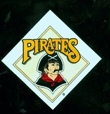 "1990's Pittsburgh Pirates 3"" square baseball decal"