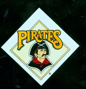 """1990's Pittsburgh Pirates 3"""" square baseball decal"""