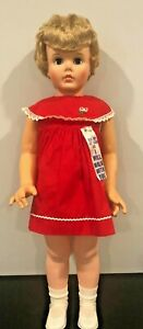 "Vintage 30"" Walking Doll, Hold My Left Hand And I Will Walk With You In Box"