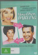 MOVE OVER DARLING STARS DORIS DAY AND JAMES GARNER CLASSIC NEW ALL REGION DVD