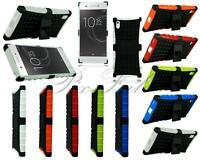 Per Sony Xperia XA1 G3121 Nuovo Armatura Shock Anti Costruttore Stand Telefono