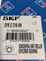 SKF SYR 2.7/16 NH  EXPLORER  PILLOW BLOCK BEARING NEW IN BOX