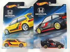 2018 Hot Wheels '90 1990 Honda Civic EF and '85 1985 Honda CR-X CRX